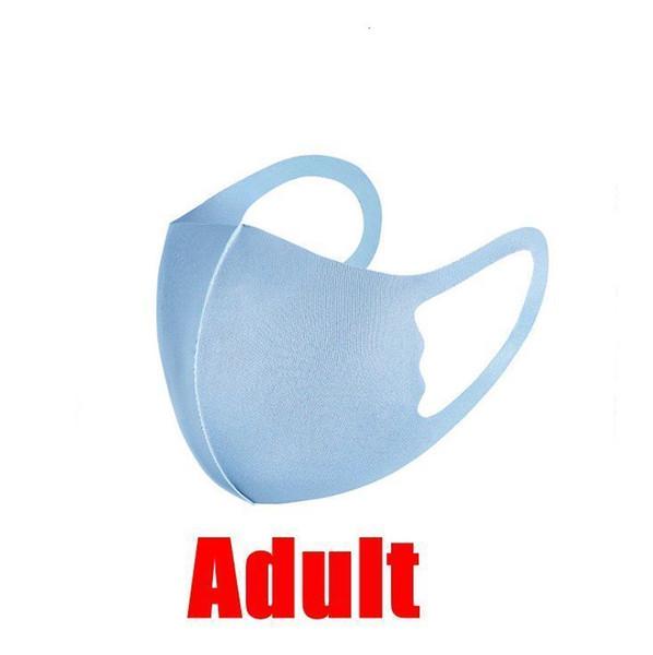 Взрослый синий