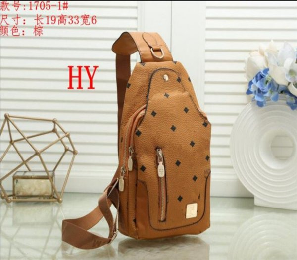 top popular High Quality Luxury men women' Backpack Chest bag casual outdoor backpack Designer lady backpacks Bags brands Chest bags 2021