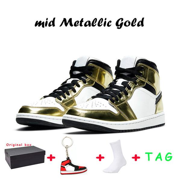 22 mid Metallic Gold