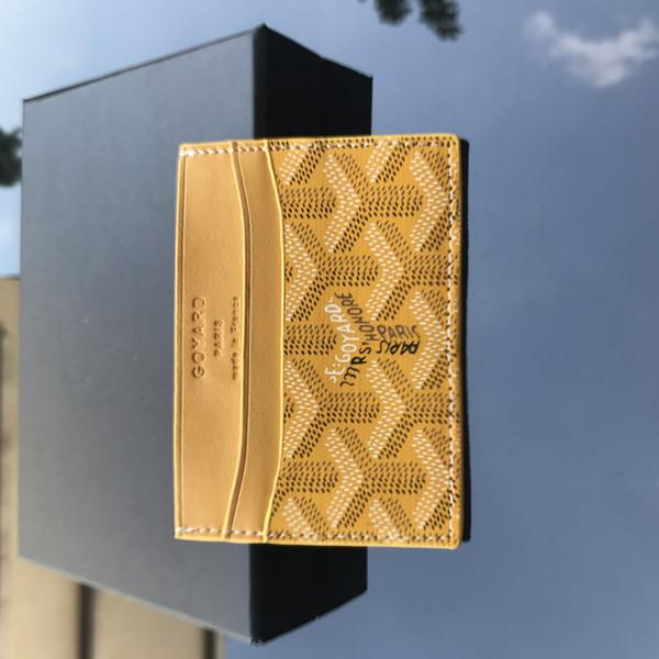 Yellow - Card Case