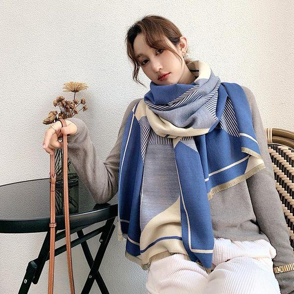 Mujeres azules azules de China