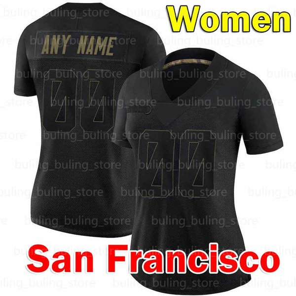 Personalizzato 2020 New Women Jersey (49 R)