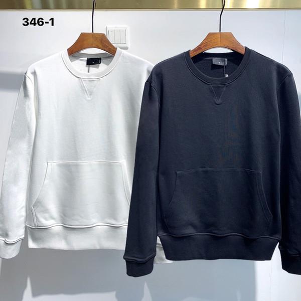 best selling Sweatshirt Men Street dance Skateboard Cotton classic embroidery Round neck Plus velvet fashion Hip hop pullover new style5QE