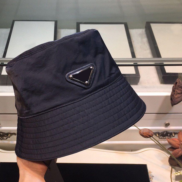 best selling Mens Fitted Baseball Caps Fisherman Hat Letters Triangle Winter Hat Black Tide Female Basin Hat Mens Hats No Box Dz 20120907DQ