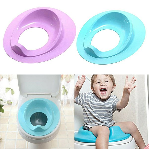 top popular Kids Toilet Seat Baby Safety Toilet Chair Potty Training Seat LJ201110 2021