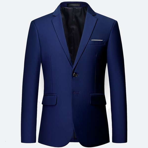 Blazer bleu royal