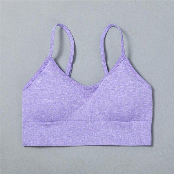 Фиолетовый бюстгальтер
