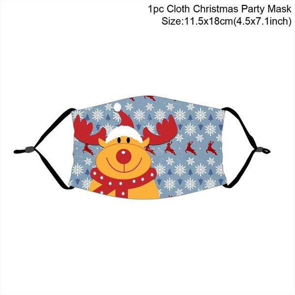 máscara de Natal 14