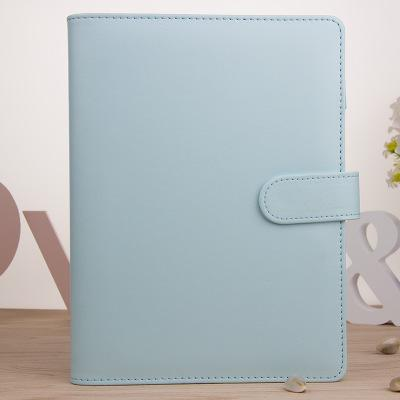 A6 azul sin papel