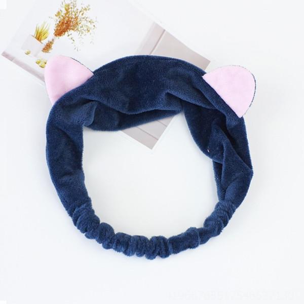 Кошка # 039; уши темно-синий # 573