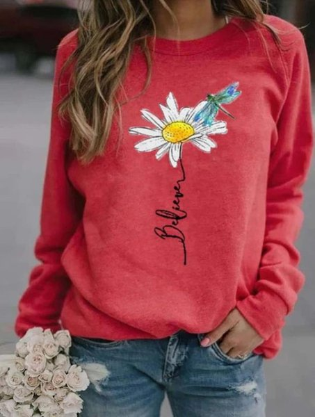 Rote Chrysantheme