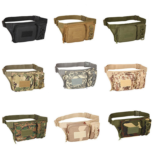 best selling Outdoor Sports Hiking Versipack Running Waistpack Tactical Camouflage Waist Bag Fanny Pack NO11-400