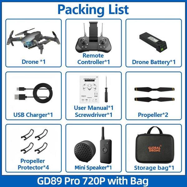 720P Speaker Bag