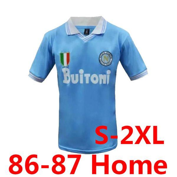 Retro 86-87 Napoli Home