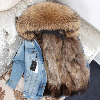 Fox Fur Liner Brown