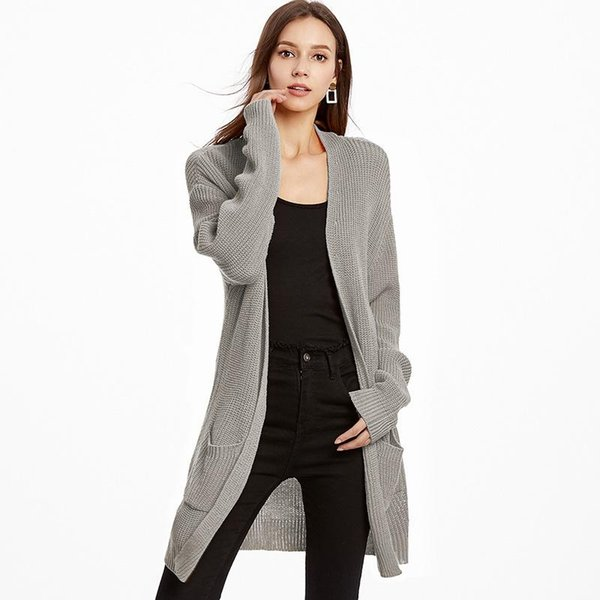 Fashion Women Loose Cardigans Long Sleeve Pockets Sets 2020 Autumn Open Stitch Knitted Sweaters Female Clothing Hot Sale Cardigans Women's Clothing Cheap Cardigans.We offer the best wholesale price, quality guarantee, professional e-business service and fast shipping . You will be satisfied with the shopping experience in our store. Look for long term businss with you.