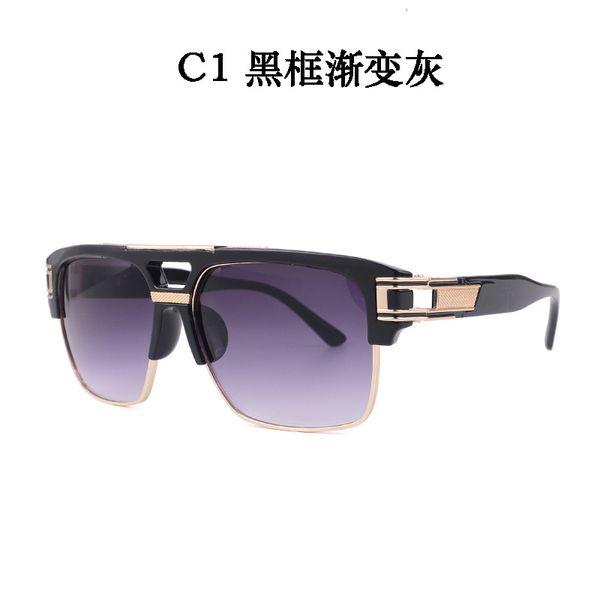 C1 Black Frame Gradient Grey