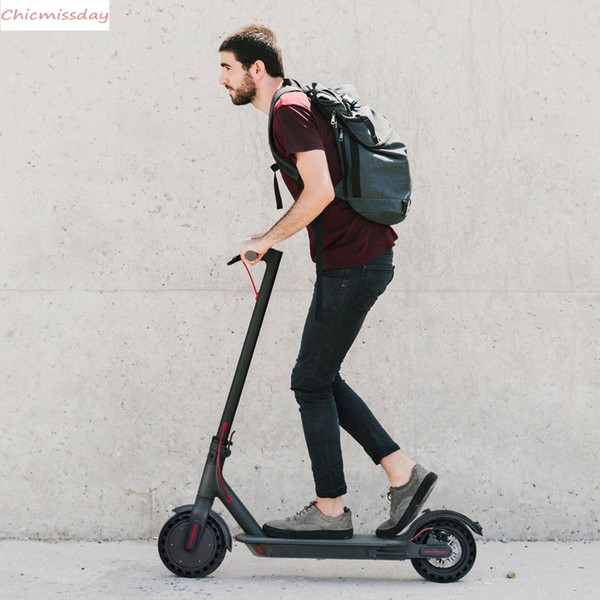 US STOCK deliver 3-5 Days Waterproof KickScooter Electric Scooter Adult Scooter Off-road E-scooter With APP MK083
