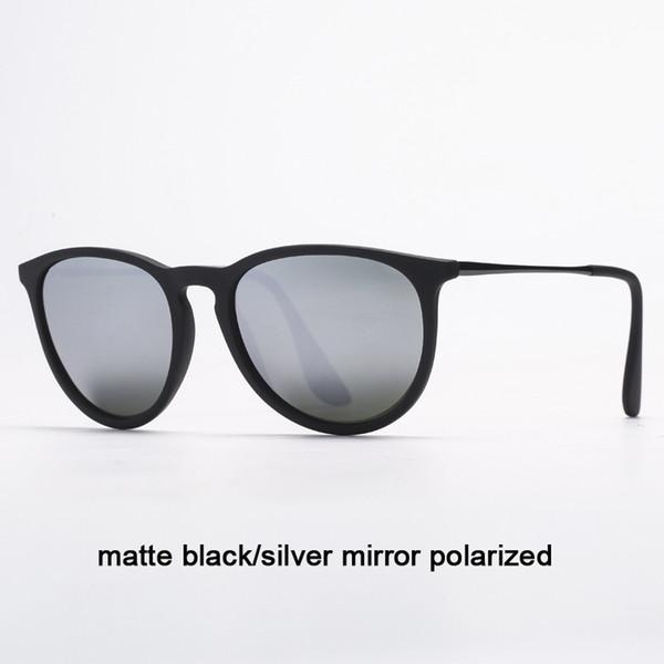 622 / 6G Matte Black / Silver Mirror Polariz