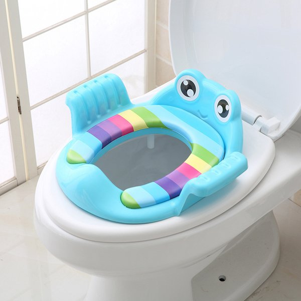 top popular Baby Toilet Potty Infant Kids Toilet Training Seat Portable Urinal Potty Training Accessory Seats Potty Training Accessory fo LJ201110 2021