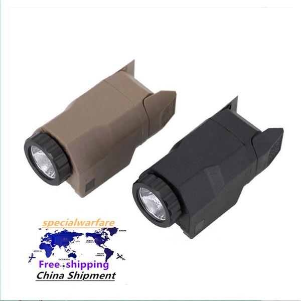 top popular G17 G19 APL flashlight APL-C tactical under-mounted flashlight P1 under-mounted 20mm rail 2021