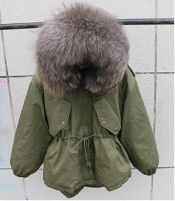 Green And Grey Fur