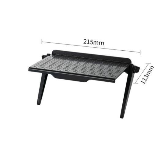 21.5x11.3cm الأسود