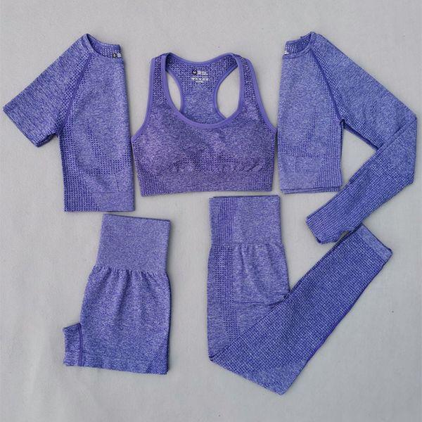 Purple 5 Pcs Set
