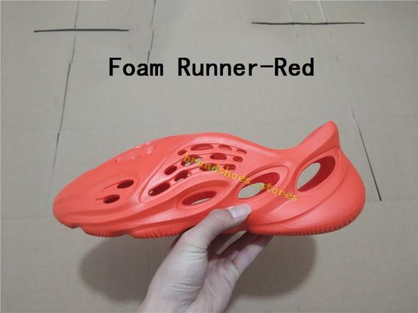 Köpük koşucu-kırmızı
