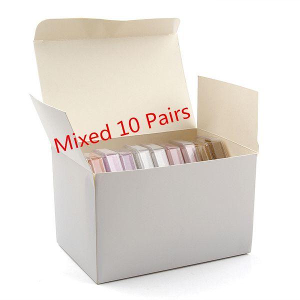 Mixed 10 pares = 1 lote = 1 caixa