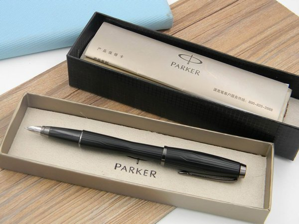 best selling Parker Urban black Forest office Writing Supplies Gift Set box Metal Fountain Pens