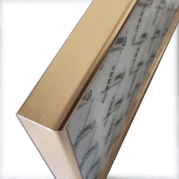 Cornice fotografica dorata 15x20cm 8 pollici