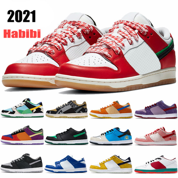 2021 New best mens basketball shoes Habibi sean shadow chunky dunky Travis Scotts viotech Kentucky instant low men women sneakers trainers