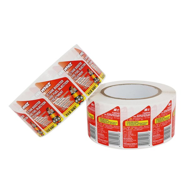 best selling Customized Oil Bottle Package Adhesive Stickers Labels Printed Roll Self Seal Packing Labels Stickers with High Quality