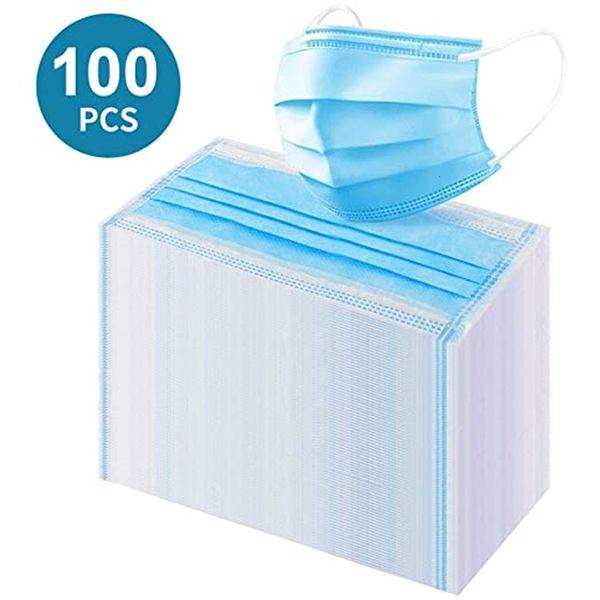Yetişkin 100pc Mavi