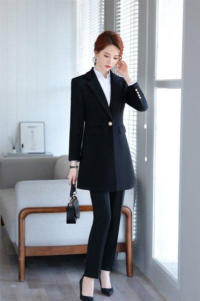 8259 casaco preto + 8259 calças pretas