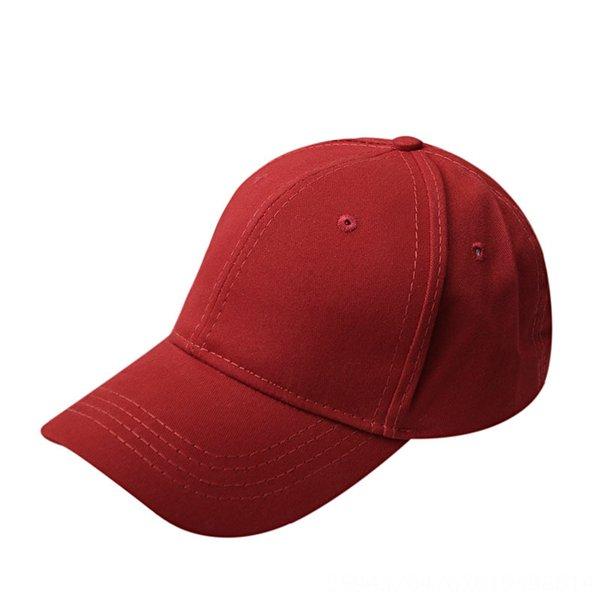 Cápsula de béisbol de cola de caballo algodón - rojo