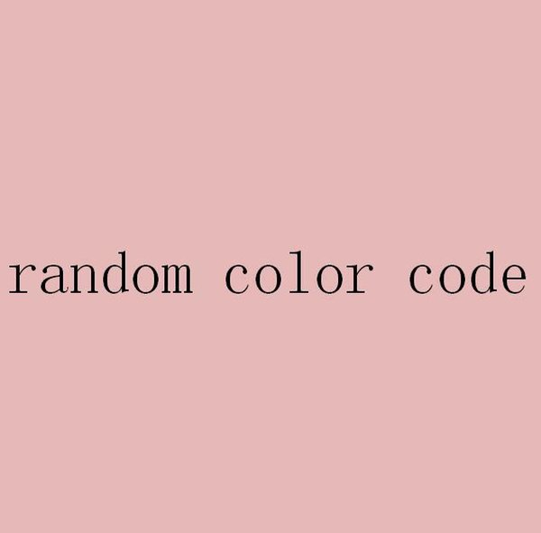 Random Color-One Size