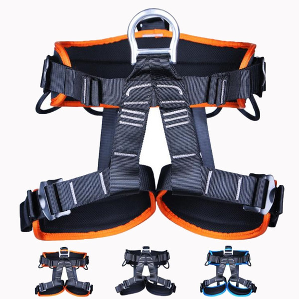 best selling XINDA TUPA Outdoor Tree Surgeon Arborist Rock Climbing Harness Falling Protection Safety Belt Rappelling Escalade Equipment Q1118