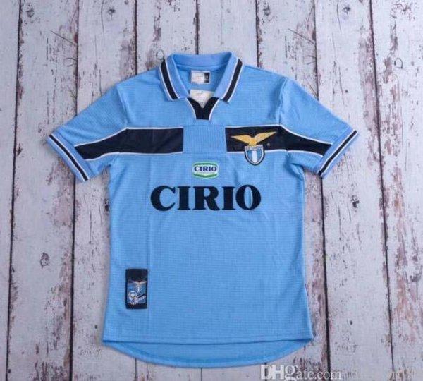 2020 98 99 2000 91 Lazio Retro Version Soccer Jersey 1989 ...