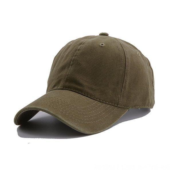 Gewaschene Baseballmütze - Army Green