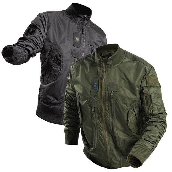 best selling Outdoor Sports Gear Jungle Hunting Woodland Shooting Coat Tactical Combat Clothing Outdoor Pilot Paratrooper Jacket NO05-220