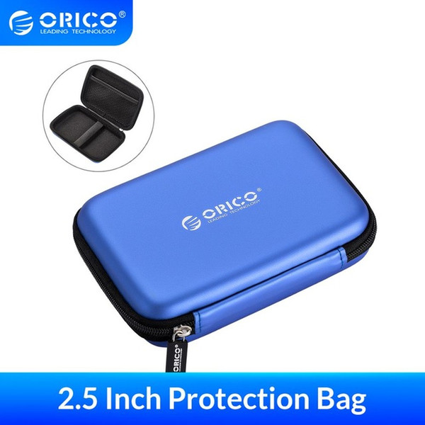 Hard Drive Bags & Cases ORICO 2.5 Inch Protection Case Earphone Bag for External Portable HDD USB Charging Cables Power Banks Earphones