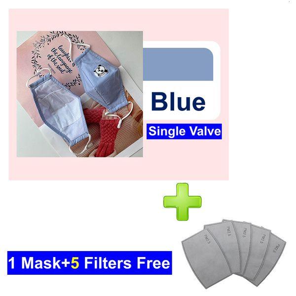 Azul con Válvula