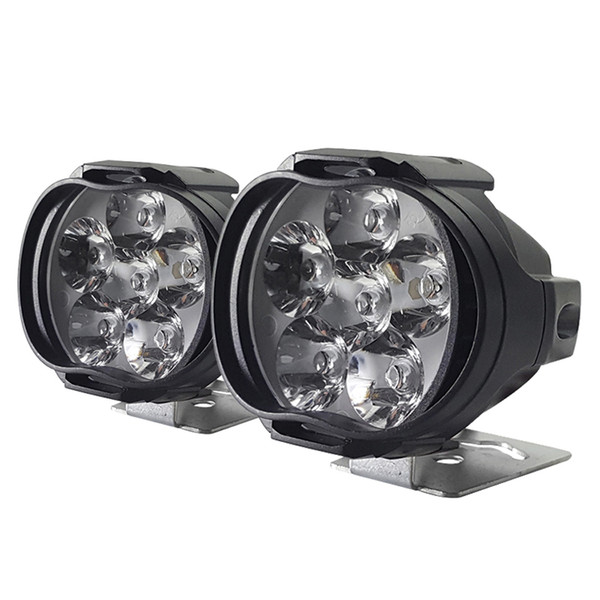 best selling Motorcycles LED Headlight Lamp Super Bright 1000Lm Scooters Spotlight 6500K White Working Car Fog Spot Light 9-85V