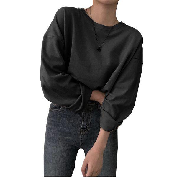 Siyah uzun kollu