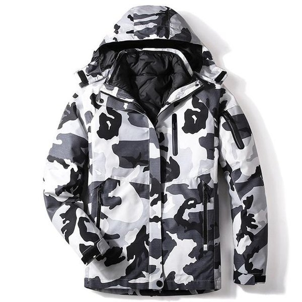 Camouflage L gray