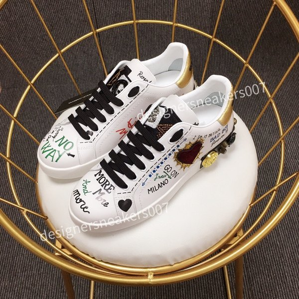 2021the new Man Fashion Women Shoes Men's Leather Lace Up Platform Oversized Sole Sneakers White Black Casual hc190903