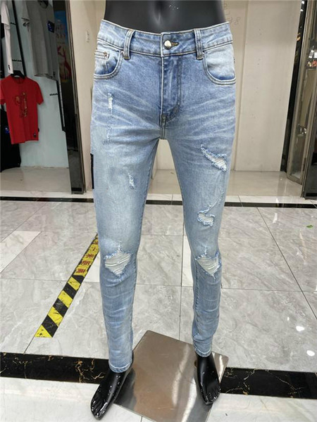 best selling Letter Printed White Denim Pants New Style Mens Designer Pencil Jeans Fashion Club Clothing for Shipping Hip Hop Skinny Jeans