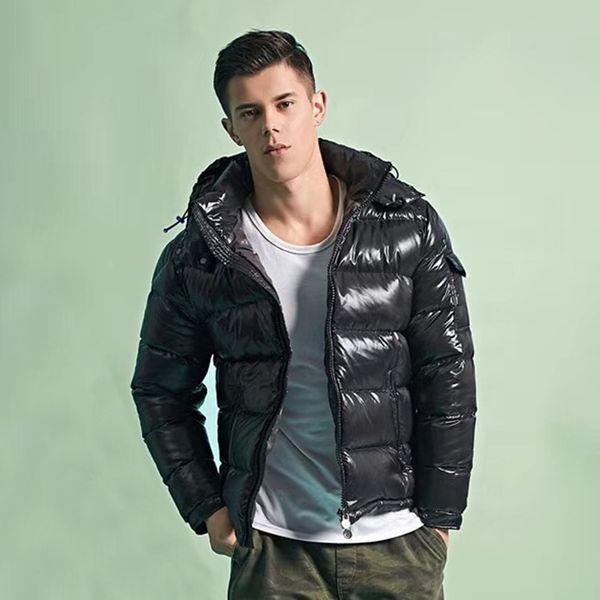 top popular Mens Jacket Parka Men Women Classic Casual Down Coats Outdoor Feather Winter Doudoune Homme Unisex Coat Outerwear Detachable hat Windproof and warm 2021